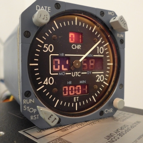 A320 GMT 4200 Electronic Clock