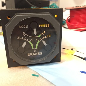 For Sale: Skalarki Triple Brake Pressure Gauge