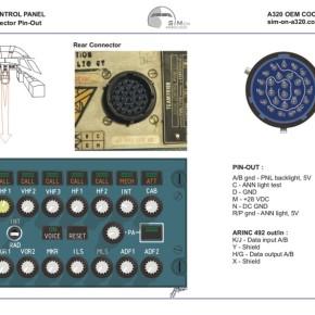 Audio Control PanelPinout