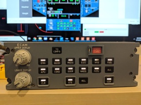 ProsimA320 ECAM ControlPanel