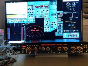 Airbus Flight Control Unit (FCU) Interfacing