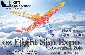 OZ Flight Sim Expo2018