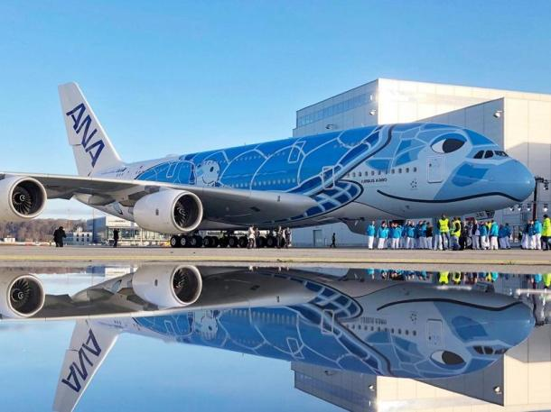 gen ANA A380 - Nippon Airways A380. Credit Airbus