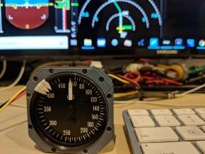 Standby Indicated AirSpeed (IAS) AnalogGauge