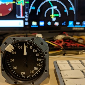 Standby Indicated AirSpeed (IAS) Analog Gauge