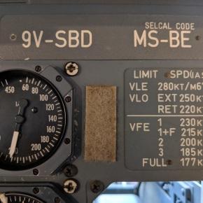 SilkAir 9V-SBD Liveson